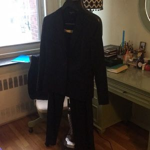Brooks Brothers Women's Navy Pinstripe Suit